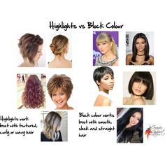 How to Decide if Your Hair Should Have Highlights or Block Colour - Inside Out Style Faux Mohawk, Mohawk Updo, Soft Hair, Wavy Hair, Curly Hair Care, Curly Hair Styles, Finger Curls, Inside Out Style, Flower Fashion