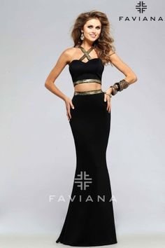 7736 BLACK/GOLD Cut-Outs Homecoming Dresses