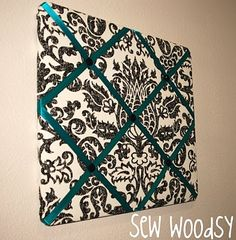 Fabric Bulletin Board. I've always kinda liked these for pictures Or something. But I like this one it's cute!