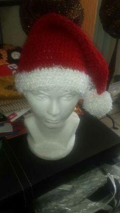 Gorro de santa tejido Elf, Beanie, Holiday Decor, Beanies, Tejidos, Art, Elves, Fairy, Female Elf