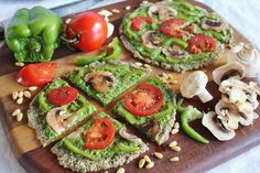 This Rawsome Vegan Life: raw pizza with spinach pesto & marinated vegetables - Liver cleansing diet raw food recipes - Learn how to do a liver flush https://www.youtube.com/watch?v=e2SxDemOO54 I LIVER YOU