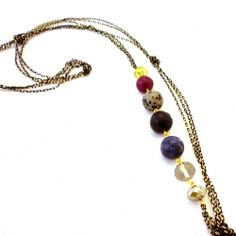 , 'Fling' necklace, nice and not symmetrical. :)