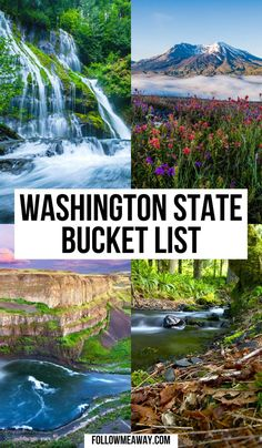 Places To Go In Washington State, Washington Things To Do, Camping In Washington State, Best Places To Camp, Cool Places To Visit, Places To Travel, Usa Travel Guide, Travel Usa, Oregon Travel