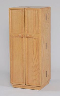 Glass Front Media Cabinet. See More. Amish Medium CD Cabinet With Doors