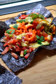 These Grain-Free Easy Fajitas are ideal for dinner loaded with tender sauteed carrots, bell peppers, onions and more!