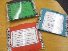 4th Grade Frolics: Word Work Scrabble Center- love this blog!!!