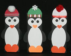 When I spotted these penguin candy bars months ago, I immediately pinned them and knew I must make them come Christmas time and I did! And I LOVE how they turned out!