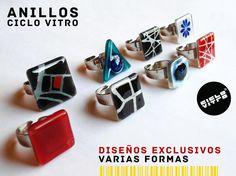 Ciclo Vitro es la empresa que dirige Diego Baca en Quito, Ecuador, de ella salen piezas como platos, llaveros, colgantes y al mismo tiempo r...