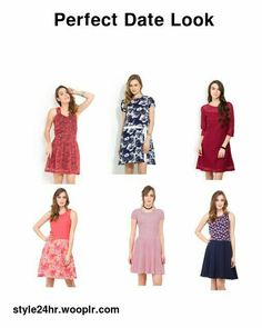 Trending Collection | Premium Quality | Best Seller Pretty Dresses For Women, Cute Short Dresses, Fit N Flare Dress, Fit And Flare, Perfect Date, Summer Dresses, Fitness, Collection, Fashion