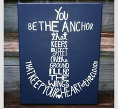 ✔ You be the anchor. #painting