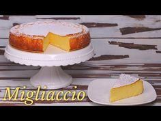 MIGLIACCIO NAPOLETANO (Torta di Semolino) Ricetta Facile di Benedetta - YouTube Vanilla Cake, Desserts, Food, Youtube, Gastronomia, Lolly Cake, Pies, Brioche, Italian Recipes