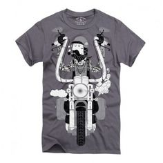 Ninety Eight Clothing Rider 2 charcoal