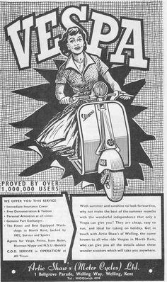 Douglas Vespa Advert