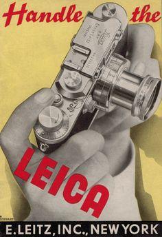Handle the Leica Camera Leitz Original 1938 Sales Brochure II III IIIb