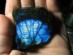 The blue fire of Labradorite.