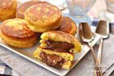 Comparte Recetas - Bizcochos de Nutella sin horno Sweet Recipes, Cake Recipes, Dessert Recipes, Creative Kitchen, Hispanic Desserts, Nutella Recipes, Empanada, Galette, International Recipes