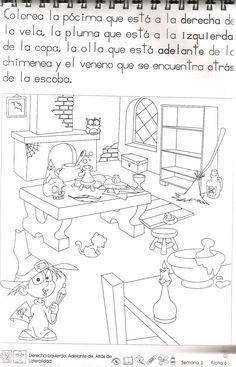 Me encanta escribir en español: Las preposiciones de lugar
