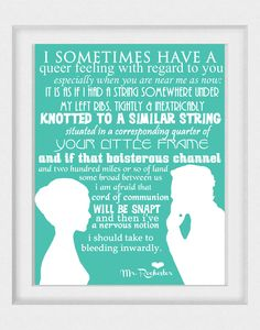 Jane Eyre Novel Quotes   Jane Eyre art print by LeighsArt on Etsy