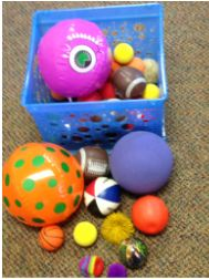 """Use the """"Good Things"""" Ball Game to engage a child in therapy."""