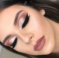 - - Beauty Makeup Hacks Ideas Wedding Makeup Looks for Women Makeup Tips Prom Makeup idea. Wedding Hair And Makeup, Bridal Makeup, Hair Makeup, Makeup For Party, Teen Makeup, Summer Makeup, Cute Makeup, Gorgeous Makeup, Elegant Makeup