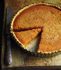 Classic English Treacle tart