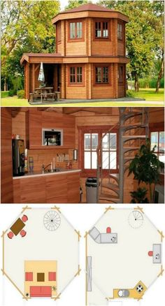 Adorable 272 Square Feet Domed Tiny House from Bar…