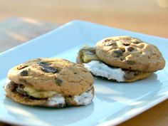 Get Chocolate Chip Cookie S'mores Recipe from Cooking Channel