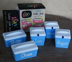 ~ Gay Ware Canisters - from Australia.
