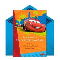 Car party entertainment cardboard car races Cars Party Ideas