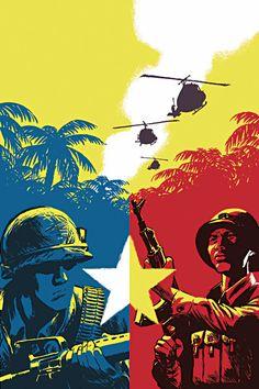 Communist Propaganda Posters of the Vietnam War. Communist Propaganda, Propaganda Art, Cold War Propaganda, Vietnam History, Vietnam War Photos, Military Art, Military History, Vietnam Veterans, Imagines