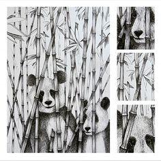 Pandy :3  výkres A2 tuš  #art #artistoninstagram #artwork #umenie #umelcinainstagrame #draw #drawingaday #drawofday #drawingaday #ink #perokresba #tus #inspiration #instaart #panda #pandaart #drawing #drawingpanda #pandalovers #creative #arthelps #bobekkresli #blackandwhite #ullustration Draw, Ink, Abstract, Artist, Artwork, Inspiration, Instagram, Summary, Biblical Inspiration