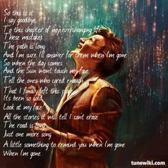 Lyric Art of Something To Remind You by Staind