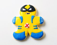 Wolverine Sugar Cookies by guiltyconfections on Etsy, $21.00