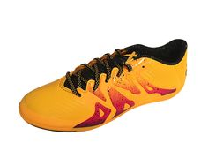 best service d2bf8 39983 adidas Performance Men s X 15.3 IN Soccer Shoe Indoor Soccer Cleats, Soccer  Shoes, Sneakers