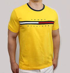 Tommy Hilfiger Mens Classic Fit Big Logo T Shirt ($45