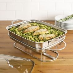 Serving meals buffet-style is an easy way to feed family and friends. Attractive and simple to use, our Buffet Servers keep foods at perfect serving temperatures. Ideal for parties, holidays or special occasions throughout the year!