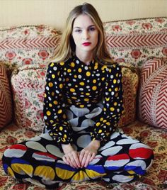 5421105818a9a  Who What Wear - The Amazing Photos You Missed on Instagram This Week  Mixing Prints