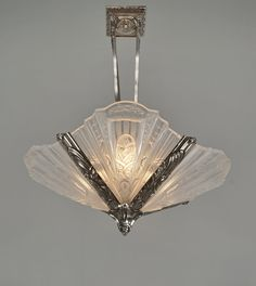 French art deco chandeliers on Pinterest Art Deco Chandelier, French ...