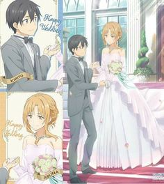 Kirito Asuna Wedding