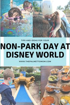 Discover some great tips and ideas on what to do during a non-park day at Disney World! Disney Travel, Disney World Vacation, Disney Trips, Big Family, Family Travel, Disney World Information, Disney World Planning, Best Resorts, Disney World Tips And Tricks