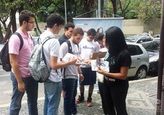Ativação da ESPM 2015 - 1 no Colégio Marista Dom Silvero (BH)