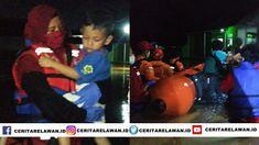 Banjir Landa Sambirata Cilegon, PMI Wrestling