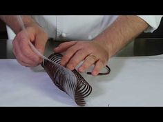 Pastry Course n° Chocolate Decoration Vira Pastry & C. Decoration Patisserie, Food Decoration, Chocolate Work, How To Make Chocolate, Chocolate Garnishes, Chocolate Desserts, Cake Decorating Techniques, Cake Decorating Tutorials, Chocolate Cake From Scratch