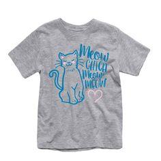 Meow Chica Meow Meow Toddler Tee
