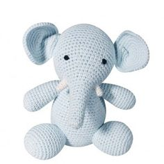 Zubels Blue Elephant | Buy at Cow and Lizard