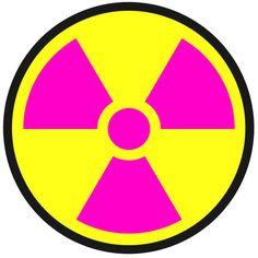 Radiation Warning Symbols: Nuclear Weapon Symbol