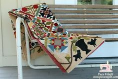 Piece N Quilt: Pieces of Time {a sampler quilt}