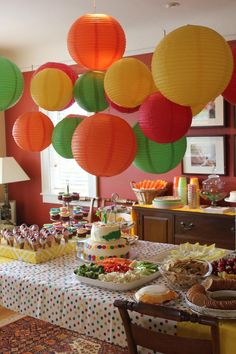 Very Hungry Caterpillar 1st birthday party I know Max wants princess but this is so cute I had to hare! Maybe next year!
