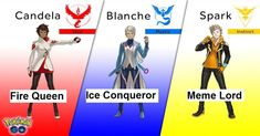 20 Hilarious Internet Reactions to Pokemon Go's New Team Leaders