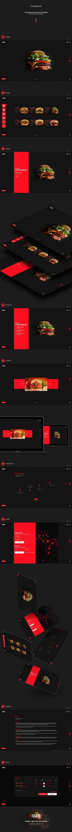 Yummy App - Restaurant Home Delivery on Behance
